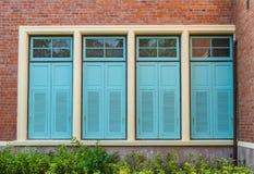 Εκλεκτής ποιότητας παράθυρο Στοκ Εικόνα