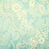 Εκλεκτής ποιότητας μπλε ταπετσαρία Στοκ εικόνες με δικαίωμα ελεύθερης χρήσης