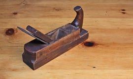 Εκλεκτής ποιότητας ξύλινη μηχανή πλανίσματος Στοκ εικόνα με δικαίωμα ελεύθερης χρήσης