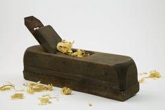 Εκλεκτής ποιότητας ξύλινη μηχανή πλανίσματος στοκ εικόνες