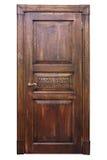 Εκλεκτής ποιότητας ξύλινη πόρτα Στοκ Εικόνα