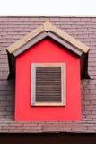 Εκλεκτής ποιότητας ξύλινο παράθυρο Στοκ Εικόνα