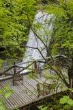 Εκλεκτής ποιότητας ξύλινο πεζούλι Στοκ φωτογραφίες με δικαίωμα ελεύθερης χρήσης