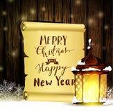 Εκλεκτής ποιότητας ξύλινο υπόβαθρο Χριστουγέννων ελεύθερη απεικόνιση δικαιώματος