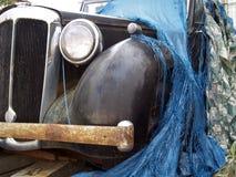 Εκλεκτής ποιότητας οξύδωση αυτοκινήτων Στοκ εικόνα με δικαίωμα ελεύθερης χρήσης