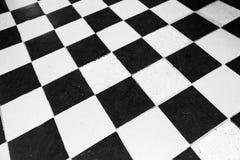 Εκλεκτής ποιότητας πάτωμα που κεραμώνει το ελεγμένο σχέδιο στοκ φωτογραφία με δικαίωμα ελεύθερης χρήσης