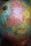 Εκλεκτής ποιότητας παγκόσμια σφαίρα, URSS και Μέση Ανατολή Στοκ Εικόνες