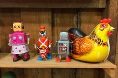 εκλεκτής ποιότητας παιχνίδι ρομπότ ψευδάργυρου Στοκ Φωτογραφίες