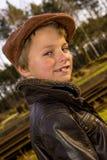 Εκλεκτής ποιότητας παιδί Στοκ Φωτογραφία