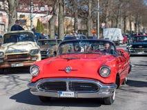 Εκλεκτής ποιότητας παρέλαση αυτοκινήτων Στοκ φωτογραφία με δικαίωμα ελεύθερης χρήσης
