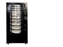 Εκλεκτής ποιότητας παλαιά κενή μηχανή πώλησης σόδας που απομονώνεται στο λευκό στοκ εικόνες