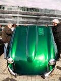 Εκλεκτής ποιότητας παλαιός κλασικός ε-τύπος ιαγουάρων αθλητικών αυτοκινήτων Στοκ εικόνες με δικαίωμα ελεύθερης χρήσης