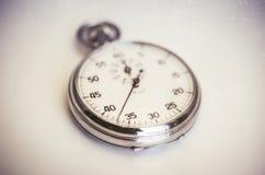 Εκλεκτής ποιότητας παλαιό χρονόμετρο με διακόπτη Στοκ Εικόνες