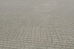 Εκλεκτής ποιότητας πεζοδρόμιο κυβόλινθων Στοκ Φωτογραφίες