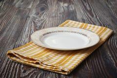 Εκλεκτής ποιότητας πιάτο Στοκ Φωτογραφίες