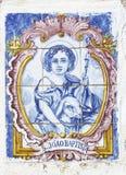 Εκλεκτής ποιότητας πορτογαλικά κεραμίδια Στοκ Εικόνες