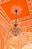 Εκλεκτής ποιότητας πολυέλαιος, παλάτι πόλεων στην Ινδία Στοκ εικόνες με δικαίωμα ελεύθερης χρήσης