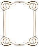 Εκλεκτής ποιότητας πολυστρωματικό κάθετο διανυσματικό πλαίσιο διανυσματική απεικόνιση