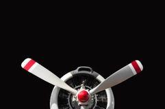 Εκλεκτής ποιότητας προωστήρας αεροπλάνων με την ακτινωτή μηχανή στοκ εικόνα