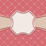 Εκλεκτής ποιότητας πρότυπο πλαισίων πολυτέλειας παλαιό πρότυπο βασιλικό Ένα διακοσμητικό ρ Στοκ εικόνα με δικαίωμα ελεύθερης χρήσης
