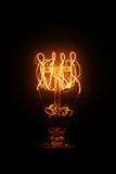 Εκλεκτής ποιότητας πυράκτωση λαμπών φωτός στοκ εικόνα με δικαίωμα ελεύθερης χρήσης