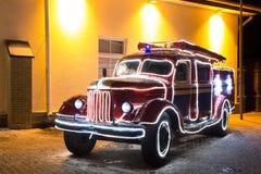 Εκλεκτής ποιότητας πυροσβεστικό όχημα Στοκ εικόνες με δικαίωμα ελεύθερης χρήσης