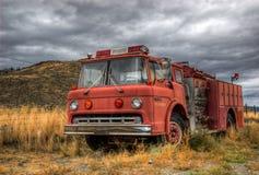 Εκλεκτής ποιότητας πυροσβεστικό όχημα Στοκ Φωτογραφίες