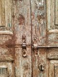 εκλεκτής ποιότητας πόρτα κλειδαριών Στοκ Φωτογραφίες