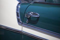 Εκλεκτής ποιότητας πόρτα οδηγών αυτοκινήτων Στοκ εικόνα με δικαίωμα ελεύθερης χρήσης