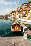 Εκλεκτής ποιότητας πλέοντας βάρκα Στοκ Φωτογραφία