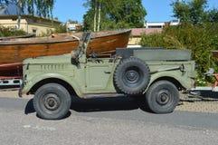 Εκλεκτής ποιότητας πλαϊνό αυτοκίνητο Στοκ φωτογραφία με δικαίωμα ελεύθερης χρήσης