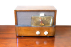Εκλεκτής ποιότητας ραδιο δέκτης σωλήνων Στοκ φωτογραφίες με δικαίωμα ελεύθερης χρήσης