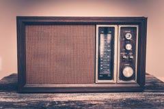 Εκλεκτής ποιότητας ραδιόφωνο στοκ φωτογραφία