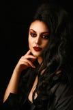 Εκλεκτής ποιότητας ρομαντικό γυναικείο πορτρέτο Στοκ φωτογραφία με δικαίωμα ελεύθερης χρήσης