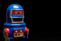 Εκλεκτής ποιότητας ρομπότ παιχνιδιών κασσίτερου Στοκ Φωτογραφίες