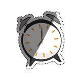 Εκλεκτής ποιότητας ρολόι με το συναγερμό διανυσματική απεικόνιση