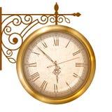 Εκλεκτής ποιότητας ρολόι οδών ελεύθερη απεικόνιση δικαιώματος