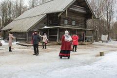 Εκλεκτής ποιότητας ρωσική διασκέδαση Στοκ Εικόνα
