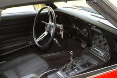 Εκλεκτής ποιότητας δρόμωνας Chevrolet Stingray αυτοκινήτων 1973 Στοκ εικόνες με δικαίωμα ελεύθερης χρήσης