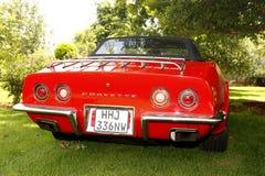 Εκλεκτής ποιότητας δρόμωνας Chevrolet Stingray αυτοκινήτων 1973 Στοκ Εικόνες