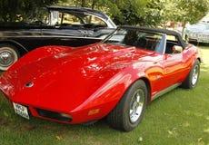 Εκλεκτής ποιότητας δρόμωνας Chevrolet Stingray αυτοκινήτων 1973 Στοκ φωτογραφίες με δικαίωμα ελεύθερης χρήσης