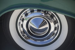 Εκλεκτής ποιότητας ρόδα αυτοκινήτων Στοκ Εικόνα