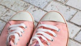 Εκλεκτής ποιότητας ρόδινα παπούτσια Στοκ φωτογραφίες με δικαίωμα ελεύθερης χρήσης