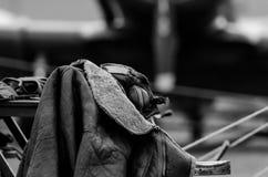 Εκλεκτής ποιότητας σακάκι πτήσης Στοκ φωτογραφία με δικαίωμα ελεύθερης χρήσης