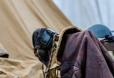 Εκλεκτής ποιότητας σακάκι πτήσης Στοκ Εικόνες