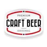 Εκλεκτής ποιότητας σημάδι μπύρας τεχνών απεικόνιση αποθεμάτων
