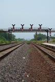 Εκλεκτής ποιότητας σιδηρόδρομος Στοκ εικόνα με δικαίωμα ελεύθερης χρήσης