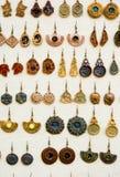 Εκλεκτής ποιότητας σκουλαρίκια Στοκ φωτογραφίες με δικαίωμα ελεύθερης χρήσης