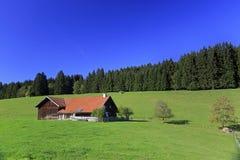 Εκλεκτής ποιότητας σπίτι στο λόφο Στοκ Εικόνες