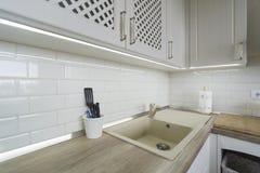Εκλεκτής ποιότητας στοιχεία κουζινών, διακοσμήσεις και λεπτομέρειες κουζινών στο κλασικό ύφος Στοκ φωτογραφίες με δικαίωμα ελεύθερης χρήσης